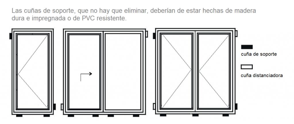 Colocacion de ventanas de pvc latest excellent persianas for Colocacion de ventanas de aluminio